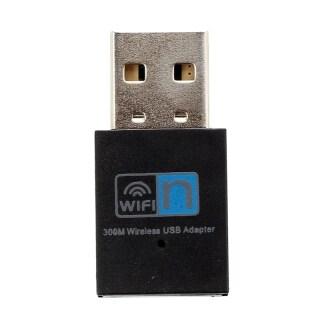 300Mbps Wireless WLAN Adapter WLAN Stick USB 2.0 Dongle IEEE 802.11n g b Black thumbnail