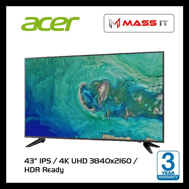 ACER DM431K 43 4K IPS HDR Ready 4K 3840x2160 Monitor Malaysia