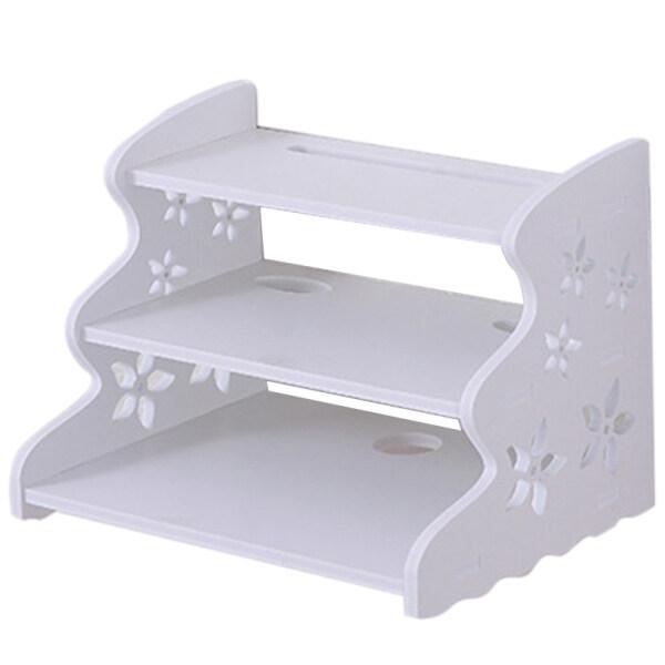 Creative Home Tv Cabinet Set-Top Box Frame Router Shelf Storage Carrier Storage Shelf Partition Rack Wall Mount