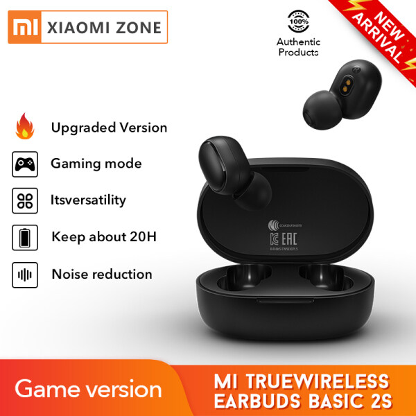 Xiaomi Mi True Wireless earbuds Basic 2S Bluetooth 5.0 touch Control TWS earphone Gaming mode USB C headphone Singapore