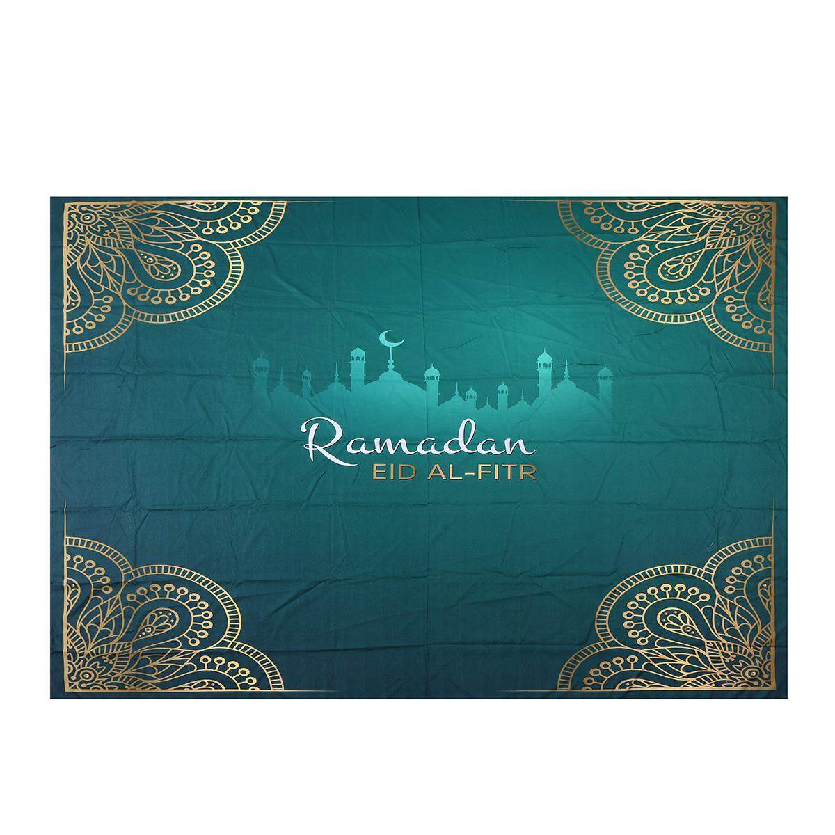 150*200CM/59*78.7 Ramadan Tapestry Eid Mubarak Islamism Background Wall Hanging Home Decoration