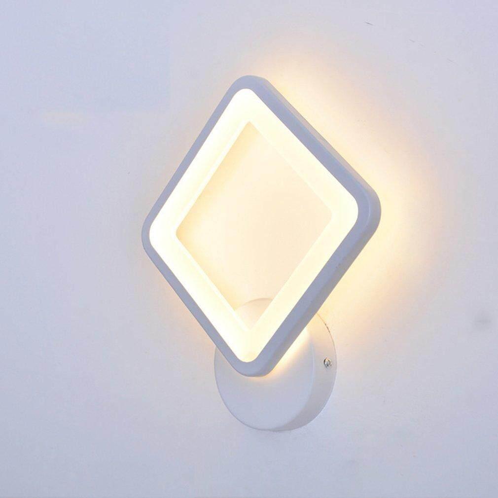 Hot Sales Bedroom Rhomboid Lamp LED Wall Lamp Bedside Light