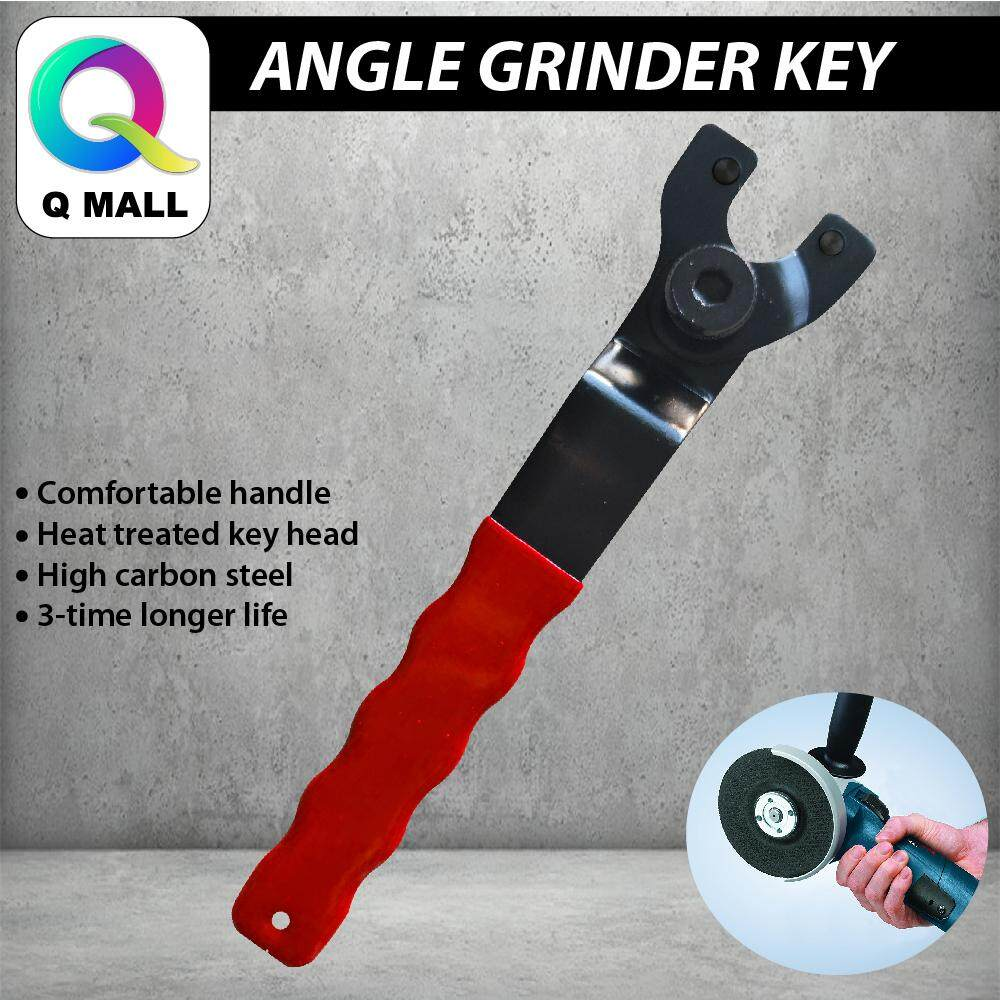 QMALL Angle Grinder Key Pin Spanner Plastic Handle Wrench Spanner Repair Tool 4 -9