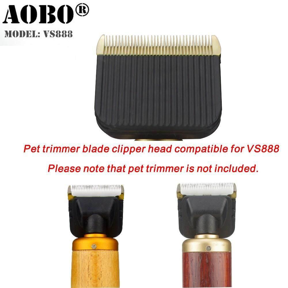 Anjing Peliharaan Profesional Cat Ternak Kelinci Gunting Pemangkas Tambahan  Kepala Kompatibel untuk Asli Aobao VS888 465695b9aa