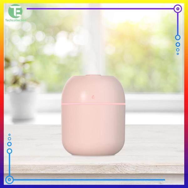 220ML Ultrasonic Air Humidifier LED Lamp USB Essential Oil Diffuser Car Purifier Mist Maker Singapore