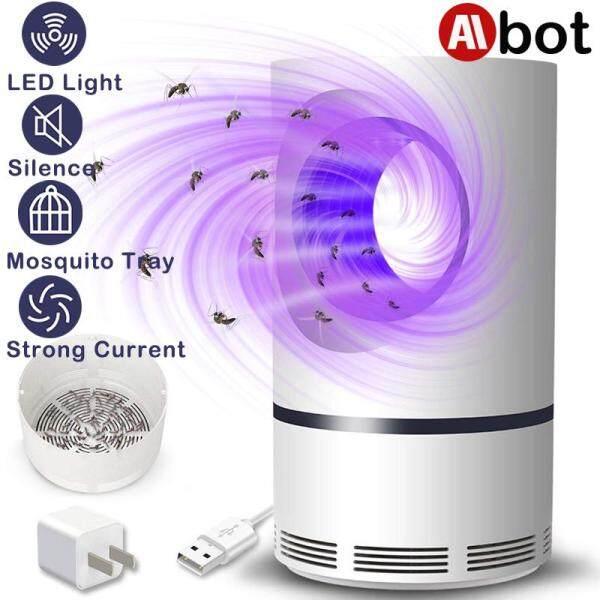 (2020 Latest) Aibot Ultraviolet Low-voltage Light USB Mosquito Killer Lamp Safe Energy Power Saving Efficient Anti Mosquito Light