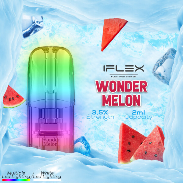 IFlex Flavor Pod E-Liquid E-Cigarette Cartridge Compatible With Relx and Sp2 ---- WONDER MELON Malaysia