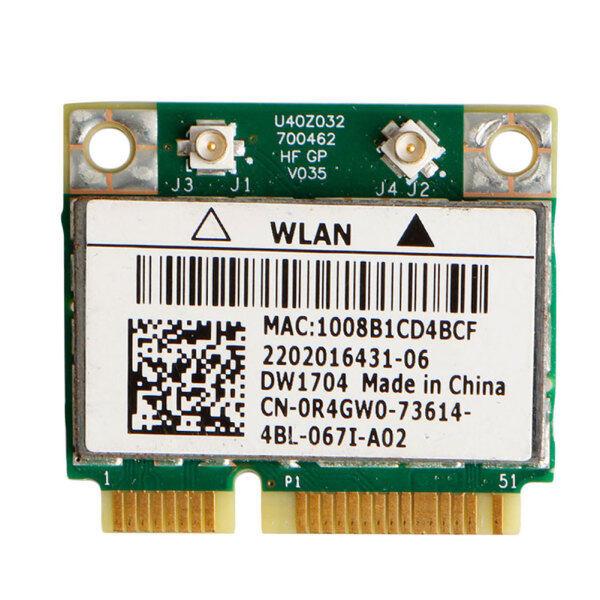 Giá Dw1704 R4gw0 Bcm943142hm Wifi Không Dây 300Mbps Bluetooth 4.0 Minipci-E Thẻ 1 Cái