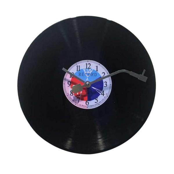 Nơi bán Đồng Hồ Treo Tường Homyl Black Vinyl CD, Chất Lượng Không Đánh Dấu Im Lặng Pin Thạch Anh Hoạt Động Vòng 12 Inch Dễ Đọc Trang Chủ/Văn Phòng/Đồng Hồ Trường Học