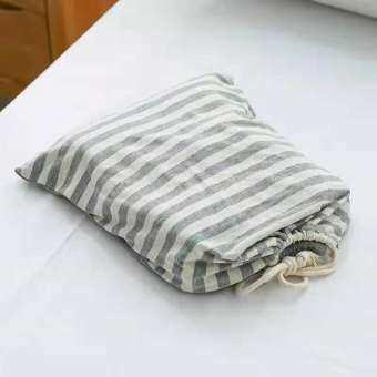 ฝ้าย100% เดินทางออกทริปทำงานกันเปื้อนถุงนอนผู้ใหญ่เดียวคู่โรงแรมโรงแรมแบบพกพาสะดวกผ้าปูที่นอนชุดผ้าปูที่นอน Schick-