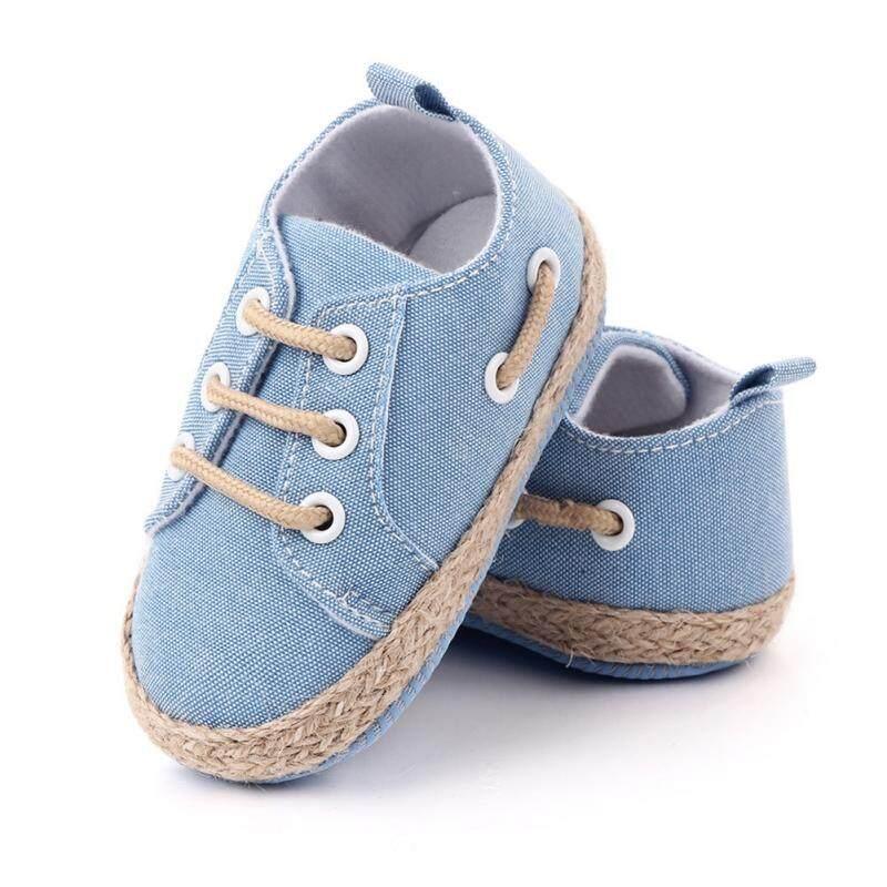 0-18M Đầu Tiên Xe Tập Đi Cho Trẻ Sơ Sinh Sơ Sinh Bé Trai Bé Gái Đế Mềm Cotton Chống Trơn Trượt Giày Sneaker Prewalker Miếng Dán Cường Lực Giày Giá Rất Tiết Kiệm