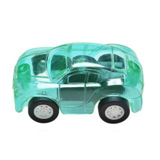 1 Chiếc Đồ Chơi Mô Hình Xe Kéo Mini Dễ Thương Nhựa Trong Suốt Màu Kẹo, Dành Cho Trẻ Em thumbnail
