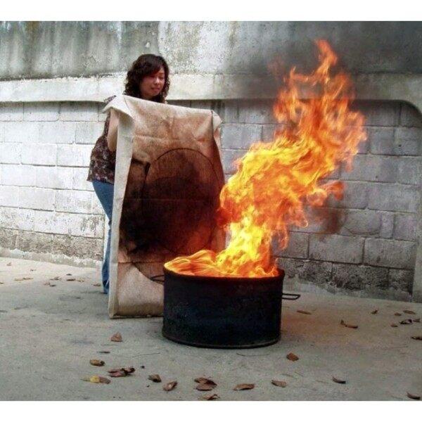 #fire blanket# ✾Selimut Pemadam Api Kecemasan Kebakaran Home Fire Blanket Fiberglass Safety Fire Fighting Prevention Dapur Kereta✽