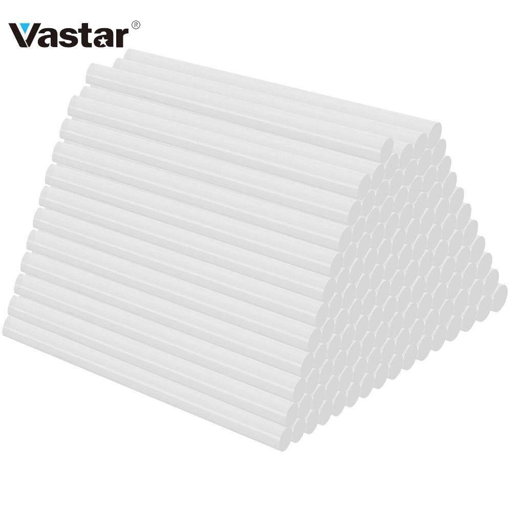 Vastar 20 120Pcs / Batch Hot Melt Glue Stick 7mm 11mm Strip DIY Art Craft Hand Repair Tool