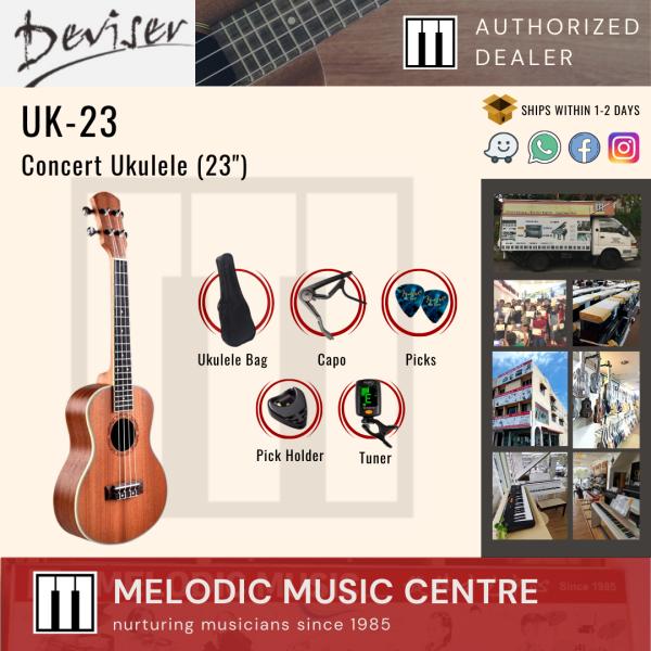 """Deviser 23"""" Concert Ukulele (23 Inch Ukulele) Malaysia"""