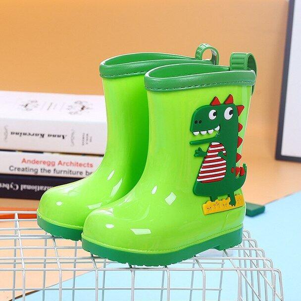 Mưa khởi động trẻ em cho bé trai cô gái mưa khởi động không thấm nước bé non-slip cao su nước giày trẻ em rainboots bốn mùa có thể tháo rời giá rẻ