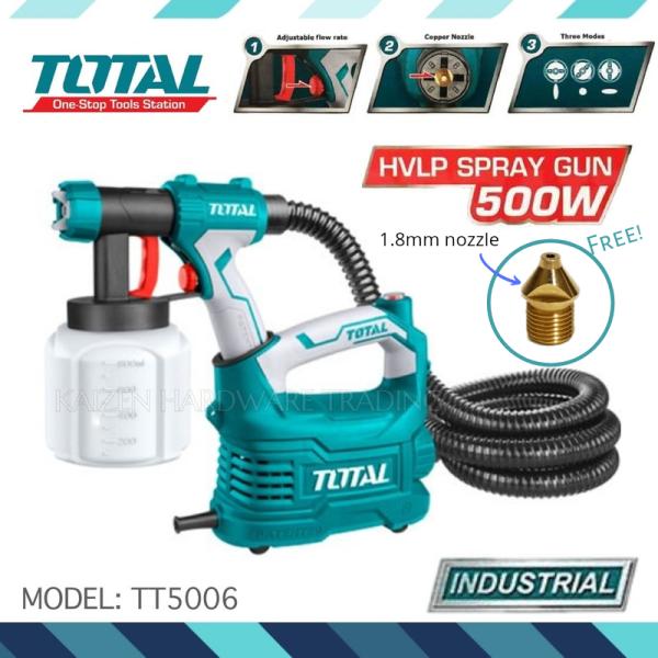 TOTAL 500W Electric Floor Based Spray Gun HVLP Model: TT5006