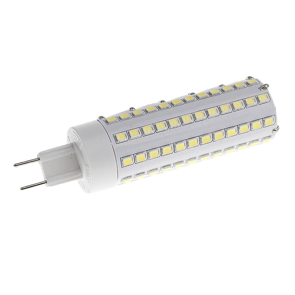 Perfk 10 Pieces 12W G8.5 LED Corn Light Bulb For Halide Lamp 25x100mm White