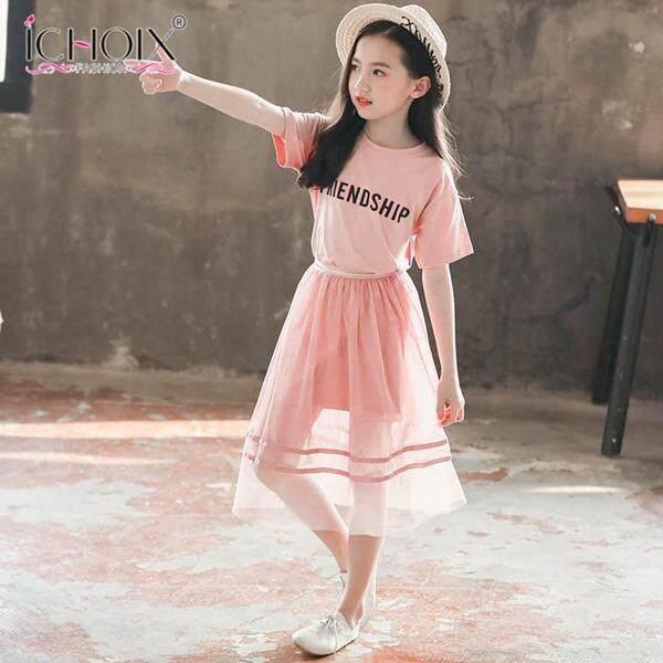 Giá bán Ichoix Phiên Bản Hàn Quốc Của Mùa Hè Mới Trẻ Em 2 Lưới Đỏ Lớn Bé Trai Xu Hướng Thời Trang Phù Hợp Với Váy