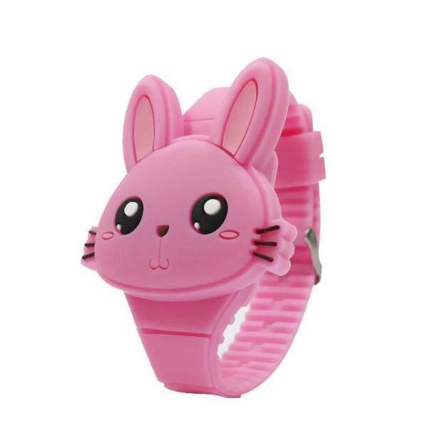 Giá bán Đồng hồ điện tử trong trẻ em chất liệu silicon không kích ứng có đèn led thích hợp làm quà tặng đáng yêu