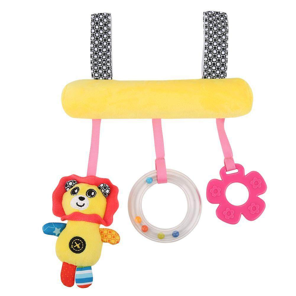 Colorful Baby Crib Stroller Hanging Toys Plush Toy Soft Cute Animal Rattle Toys