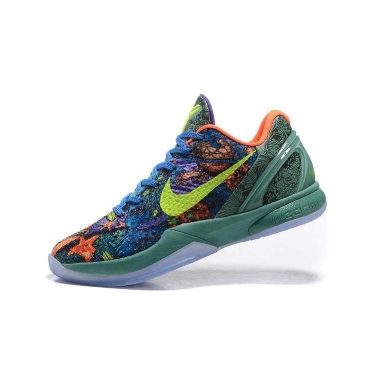 การใช้งาน  แพร่ คลังสินค้าพร้อม Nike รองเท้าบาสเก็ตบอลโกเบไบรอันท์ 6.0 ผู้ชายกีฬารองเท้าผ้าใบ