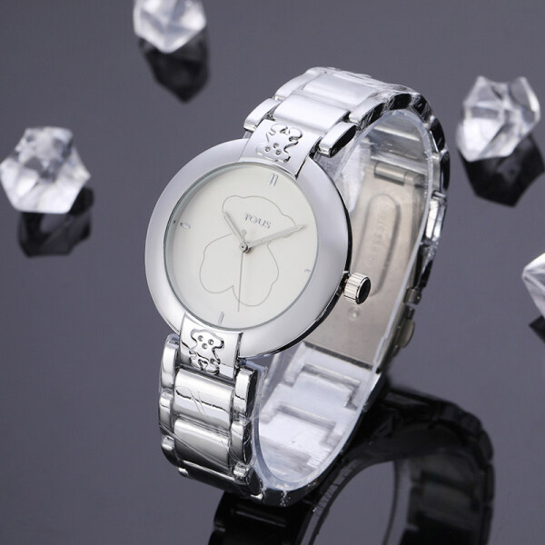 Original No.1TOUS Women Watch Stainless Steel Quartz Wristwatch Ladies Watches Top Luxury Brand Clock for Female Malaysia