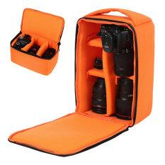 Túi Đựng Máy Ảnh DSLR SLR Túi Đựng Ba Lô Không Thấm Nước Chống Sốc Cho Canon EOS Nikon Sony