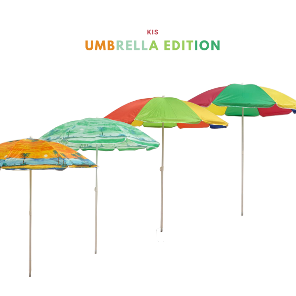 [READY STOCK] 6FT ADJUSTABLE UMBRELLA CANOPY OUTDOOR BEACH PICNIC NIGHT MARKET STALL PAYUNG MENIAGA
