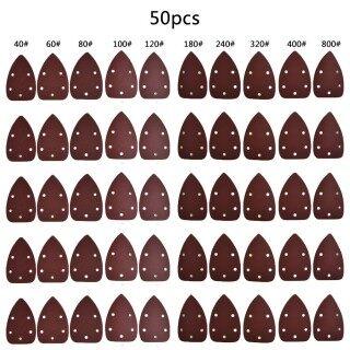 50 Tấm Chà Nhám Chuột Móc Và Vòng Lặp, Chuột Cọ Sander, Giấy Nhám Các Loại Kit thumbnail