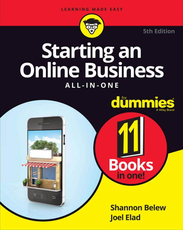 Starting an Online Business All-in-One For Duxxies (2017) by Shannon Belew eBook