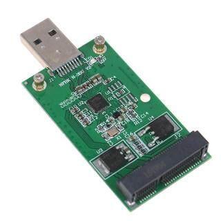 NIEN 1 Ổ SSD Ngoài USB 3.0 Sang PCIE MSATA Mini, Thẻ Chuyển Đổi PCBA thumbnail