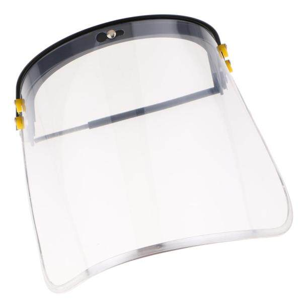 MagiDeal Bionic Face Shield with Clear Polycarbonate Visor and Anti-Fog/Hard Coat