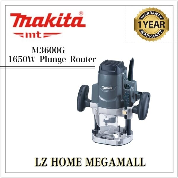 MAKITA MT M3600G 1650W 12mm Plunge Router