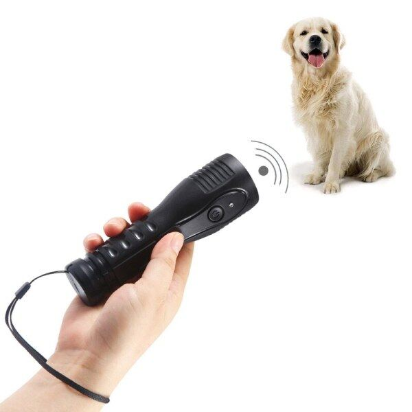 Thiết Bị Huấn Luyện Chó Cưng Máy Siêu Âm Điều Khiển Huấn Luyện Viên Thiết Bị, Chống Sủa Ngăn Chặn Tiếng Sủa Với Đèn Pin, 1