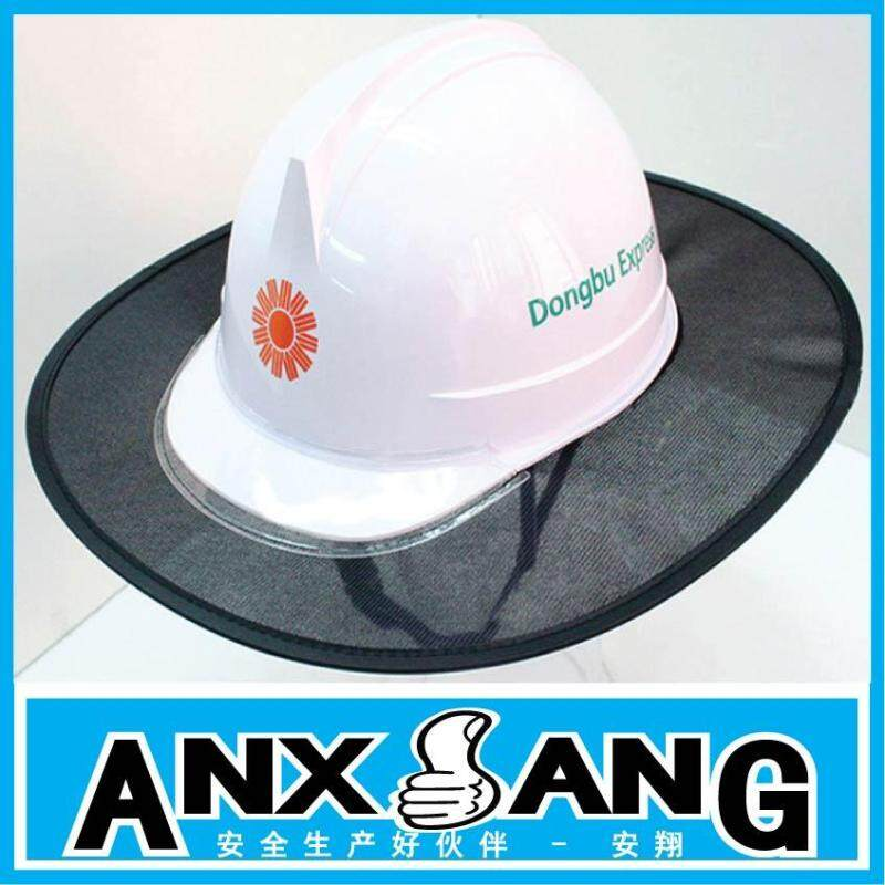 South Korea Topee UV Sun Block Safety Helmet Construction Site Construction Architecture of Cloth of Mesh of Accessories Sun-resistant Light