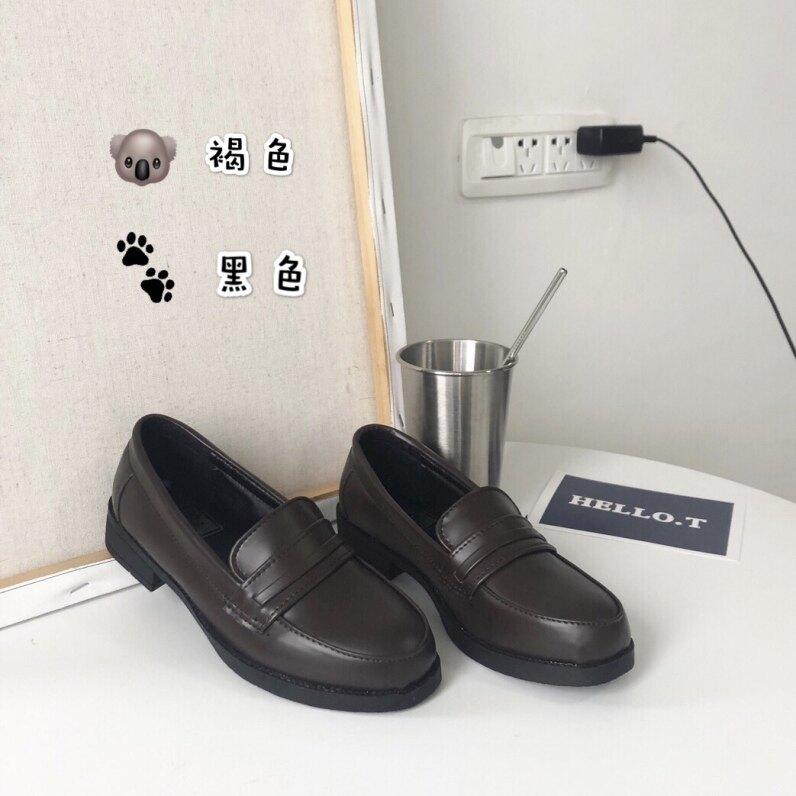 Giày Phong Cách Đại Học Nữ Sinh Trung Học Phong Cách Lolita Giày Da Màu Đen, Màu Nâu, Phù Hợp Mọi Trang Phục Đồng Phục JK giá rẻ