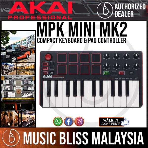 Akai Professional MPK Mini MK2 Compact Keyboard Controller (MKII) Malaysia