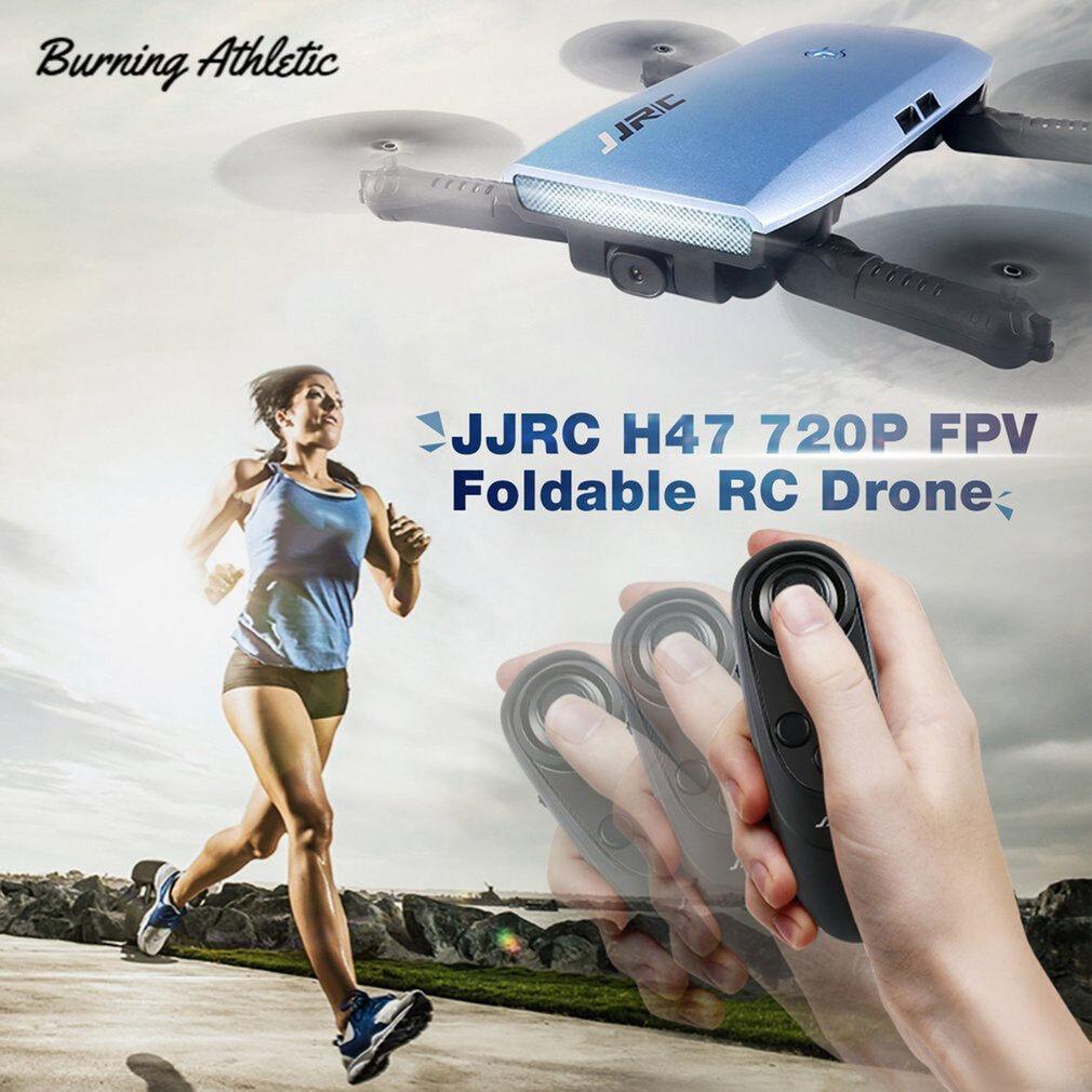 BA JJR/C Máy Bay Không Người Lái H47 ELFIE WIFI FPV, Với Camera HD 720P Độ Cao Giữ Chế Độ Selfie Mini Điều Khiển Từ Xa Cảm Biến G Có Thể Gập Lại Quadc Opter