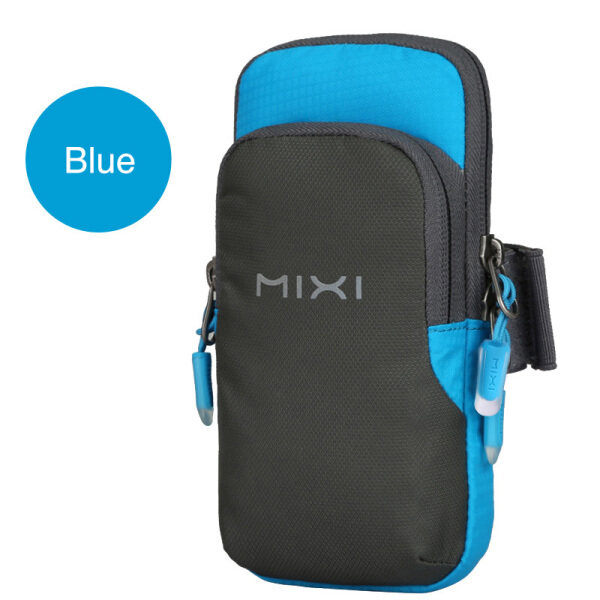 Mixi running mobile phone arm bag man women sports arm sleeve female outdoor handbag mobile phone bag wrist bag fitness clutch bag M2076