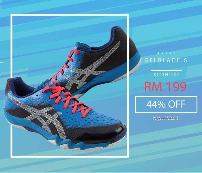 sports shoes d6225 04e91 Asics GELBLADE 6 Men Indoor Sport Shoe R703N-400