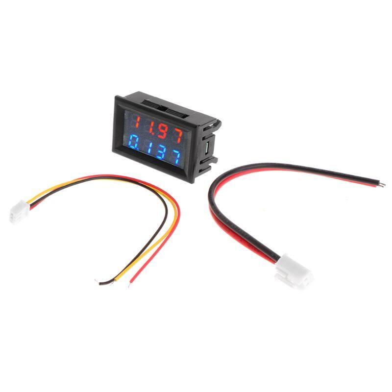 0 28 Digital Dc 200v 10a Voltmeter Ammeter 4 Digit 5 Wire Voltage Current Meter Lazada Ph