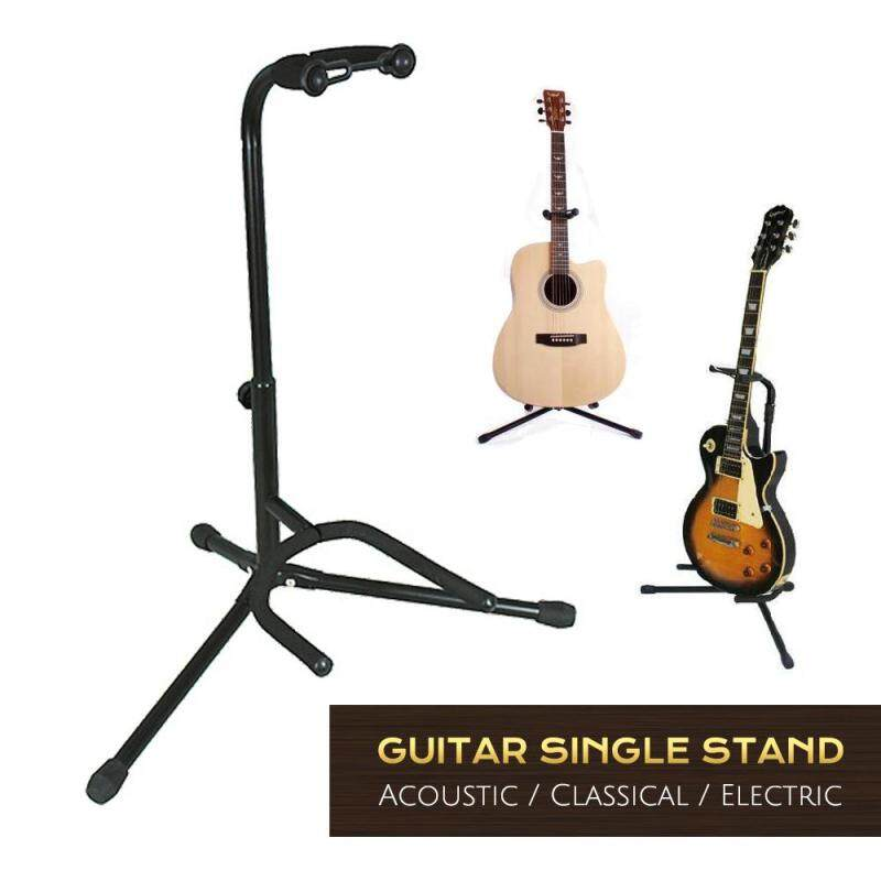 Adjustable Universal Tubular Guitar Stand for Acoustic, Electric, Classical and Bass Guitar Malaysia