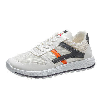 New women s shoes, low-top, breathable, flat-bottomed white shoes, thin net shoes, versatile hollow casual shoes thumbnail