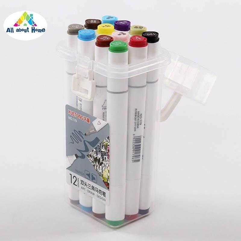 Mua ABH Màu Sắc Nhiều Màu Sắc Bút Đánh Dấu Kép Đầu Nghệ Thuật Đánh Dấu cho Tô Màu Phác Thảo và Làm Thiệp
