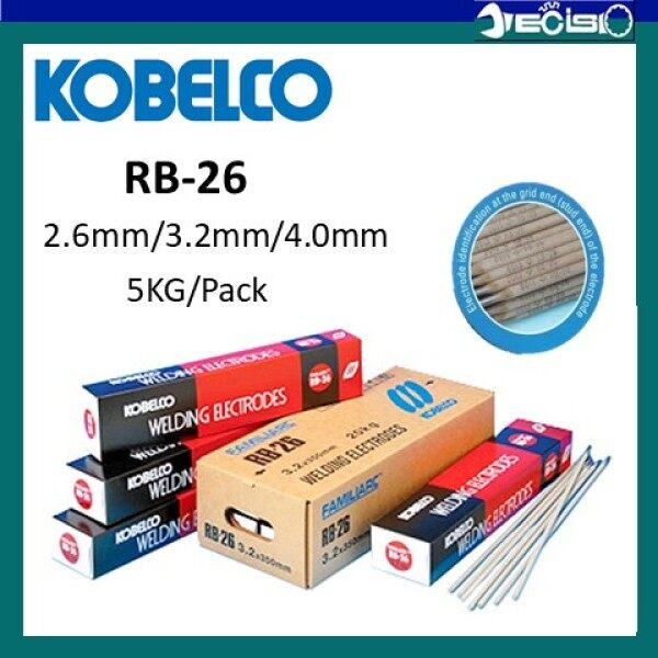 KOBELCO Welding Electrode RB26 E6013 (2.6mm/3.2mm/4.0mm) 5KG/Pack