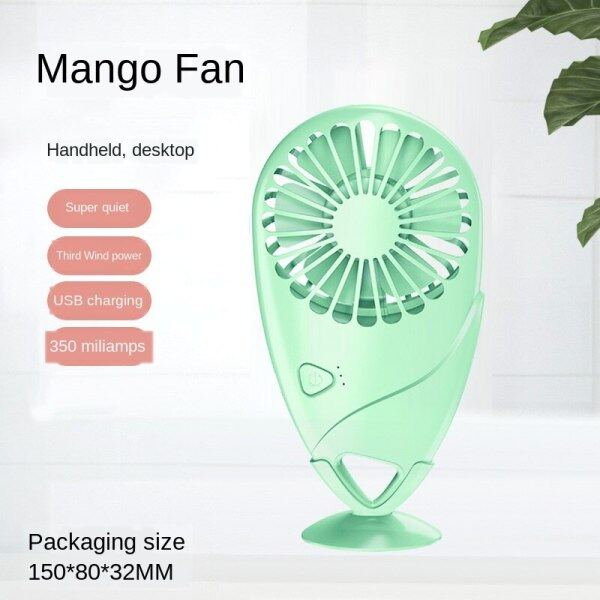 New Mango Handheld Fan Mini USB Desktop Fan Mini Pocket Fan Singapore