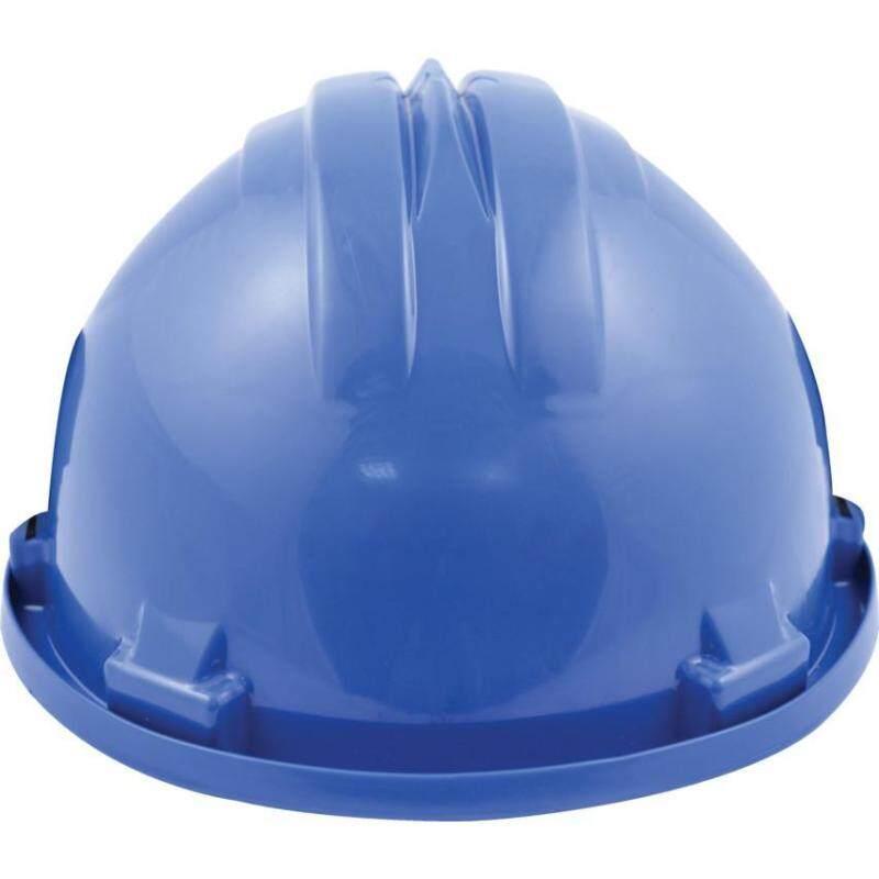 SAFETY HELMET STD + PLASTIC 6 POINT HARNESS R/BLUE SSF9572060K