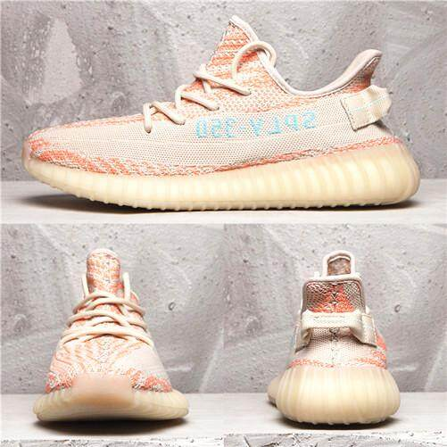 b9c460bc1cb24 Adidas Official MEN WOMEN Sneakers Yeezy Boost 350 V2 Real Boost Purple Pink  Global Sales