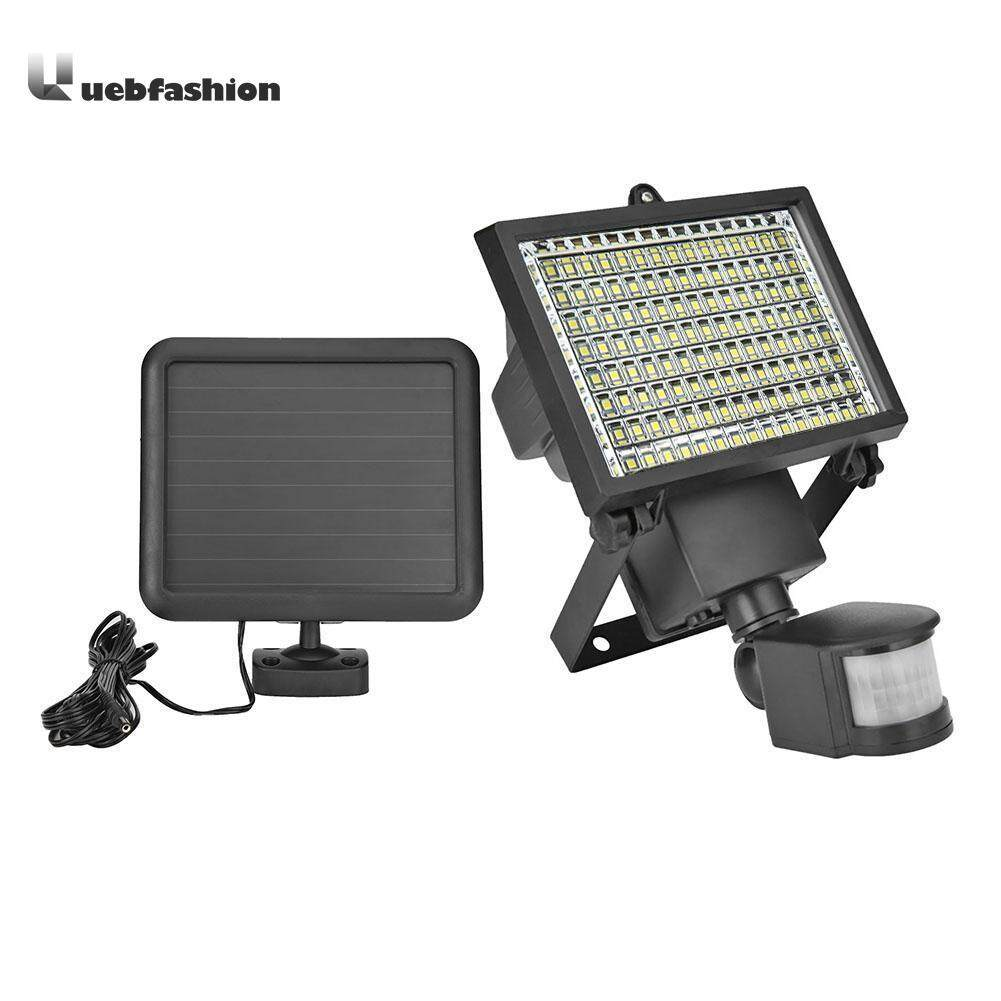 120 LED Solar Light Motion Sensor IP65 Outdoor Spotlight Safety Flood Lamp